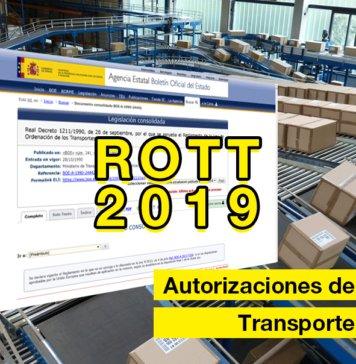 Autorizaciones de transporte público de mercancías de ligero MDL y pesado MDP