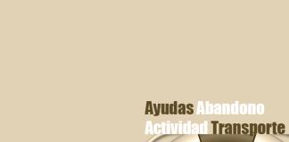 Ayudas abandono actividad 2016