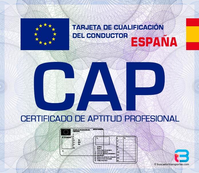 CAP Certificado de Aptitud Profesional al detalle • Buscador Transportes