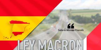 Salario mínimo francés Ley Macron