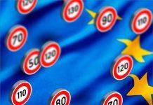 Límites de velocidad Unión Europea