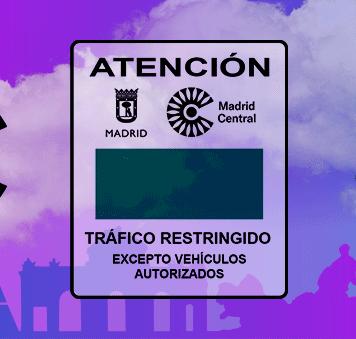 Madrid Central tráfico restringido