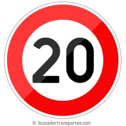Multas velocidad y pérdida de puntos por superar el límite de 20 Km.