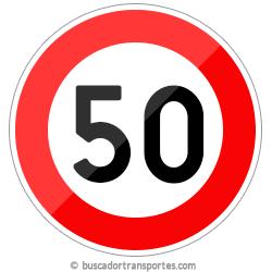 Multas velocidad y pérdida de puntos por superar el límite de 50 Km.