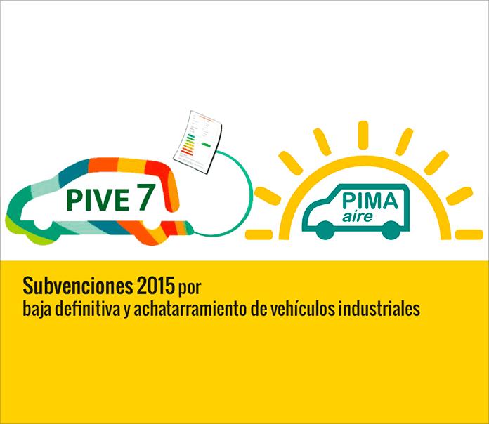 Plan Pima Transporte 2015 - Subvenciones