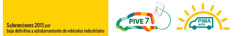Plan Pima Transporte 2015 Subvenciones por Baja Definitiva