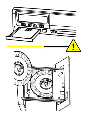 Sanciones tacógrafo por manipulación, mal uso, discos y tarjetas