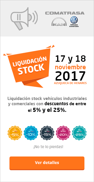 Stock Liquidación Comatrasa