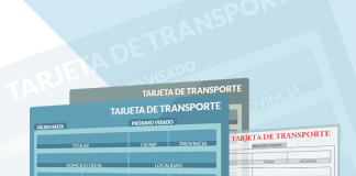 Tarjeta de transporte público ligero MDL y pesado MDP