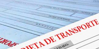 Tarjetas de transporte de mercancías para antiguos socios de cooperativas