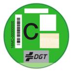Etiqueta C DGT