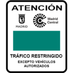 Madrid Central Tráfico Restringido